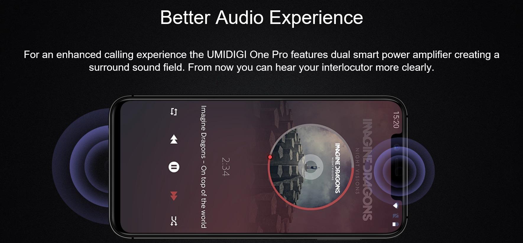 UMIDIGI One Proのスピーカー