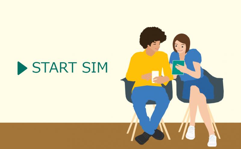 START SIM