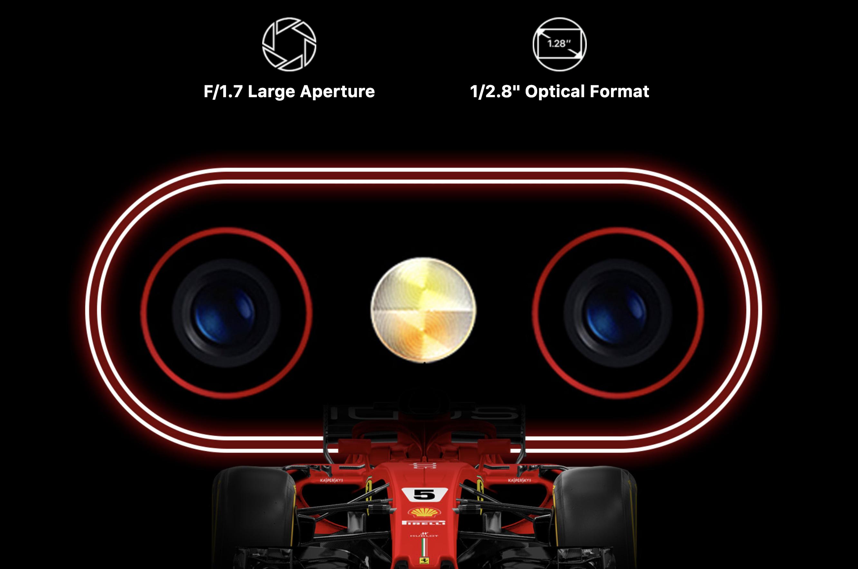 UMIDIGI F1のカメラ