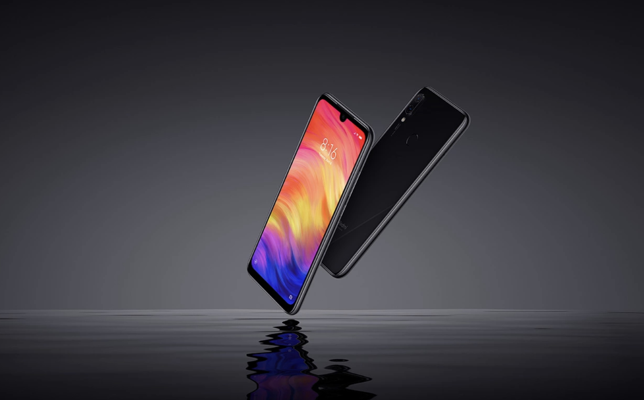 Xiaomi Redmi Note 7のデザイン