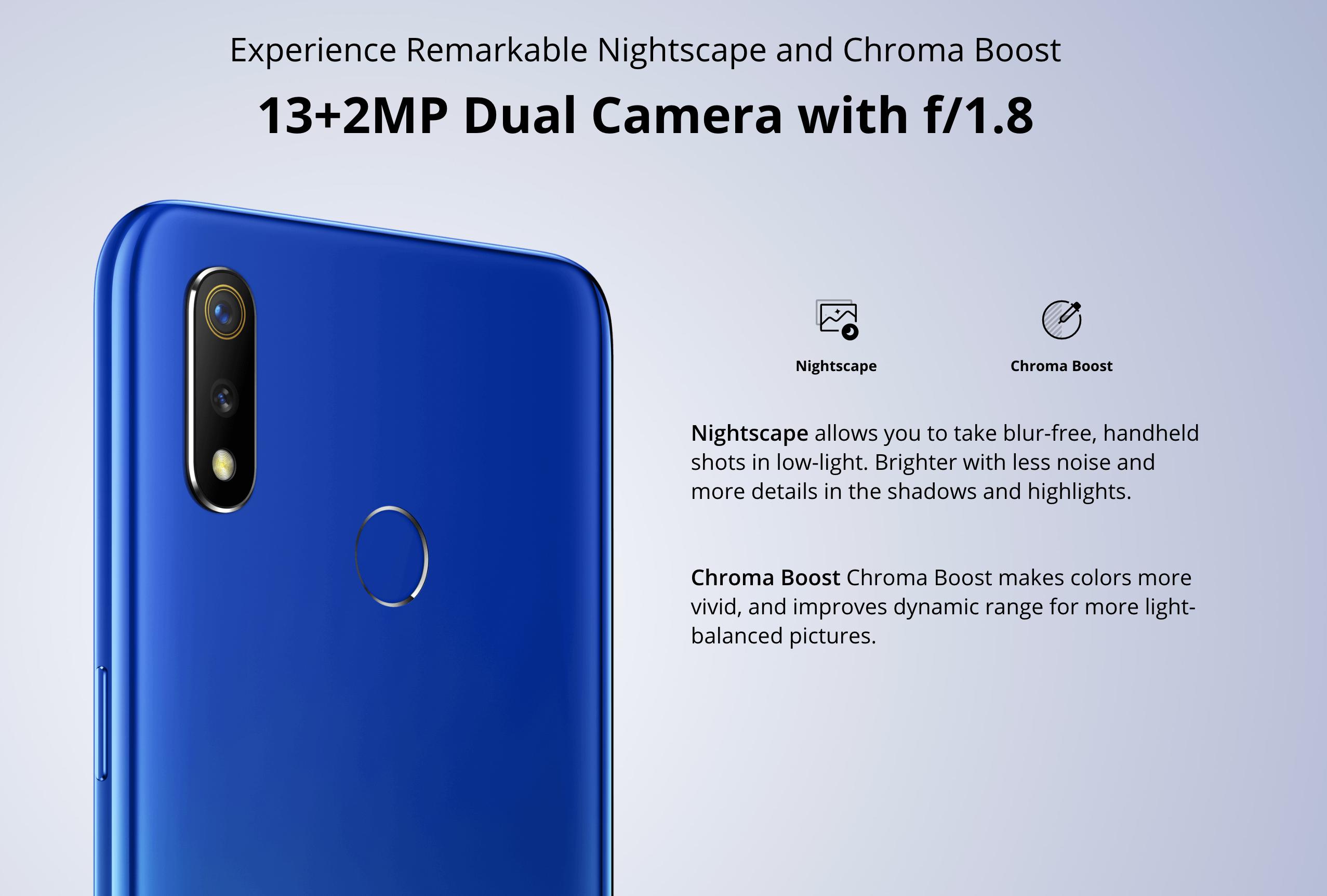 OPPO Realme 3のメインカメラ