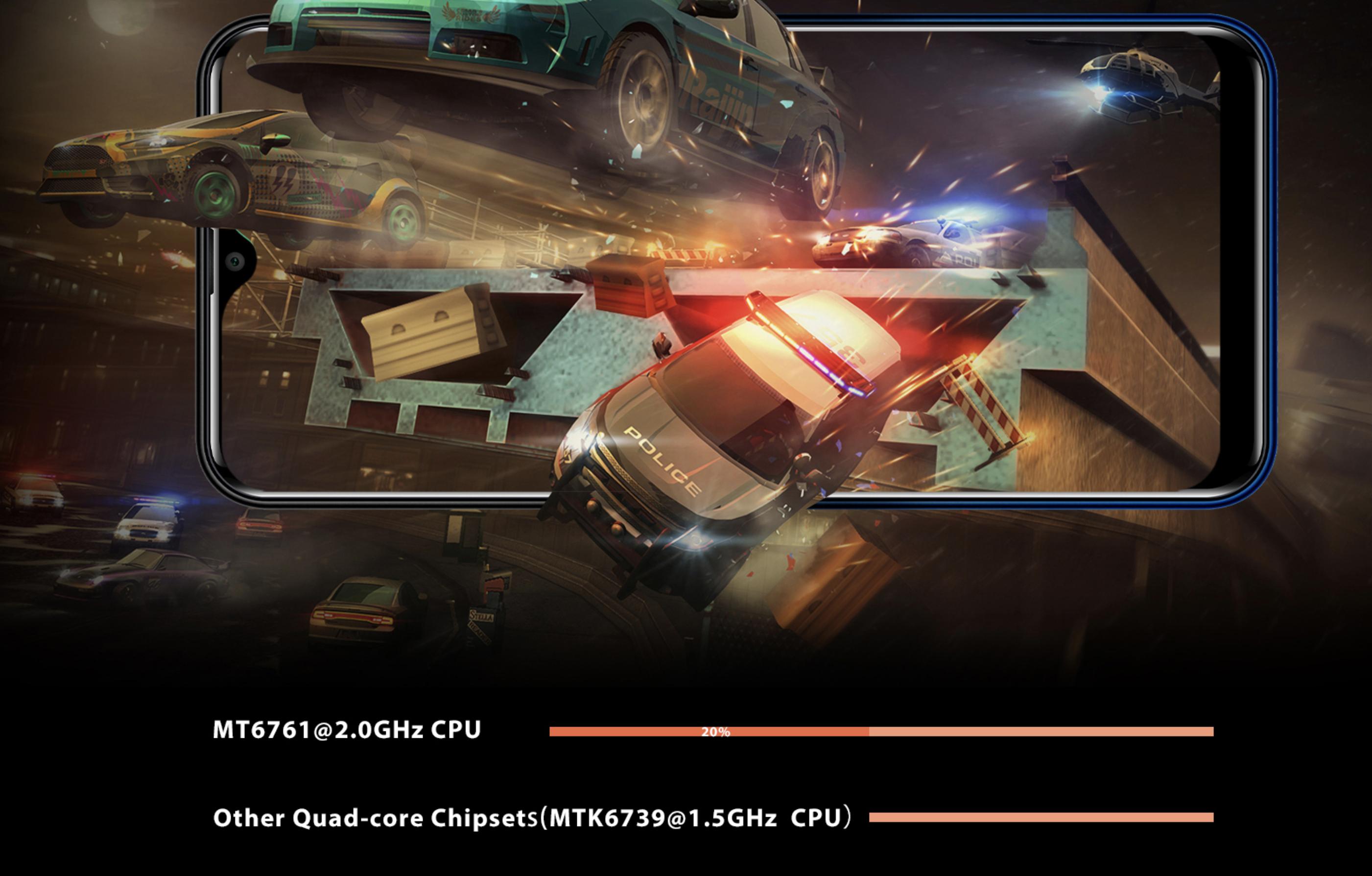OUKITEL C15 ProのCPU