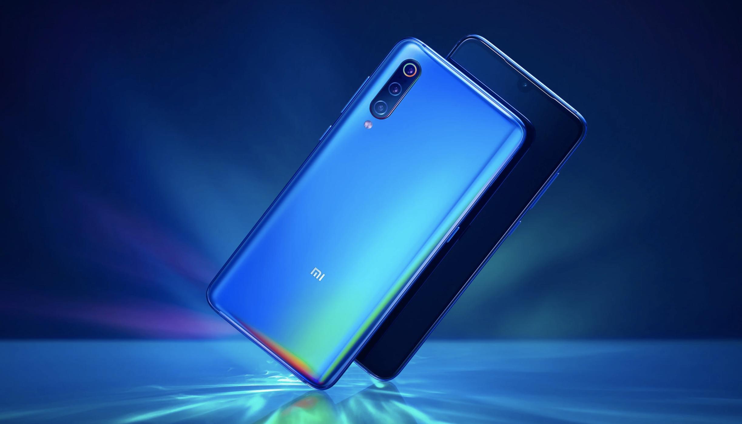 Xiaomi mi 9 のデザイン