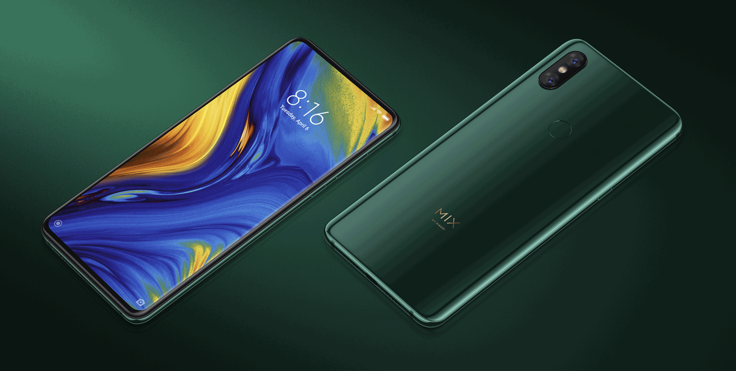 Xiaomi Mi Mix 3 のデザイン