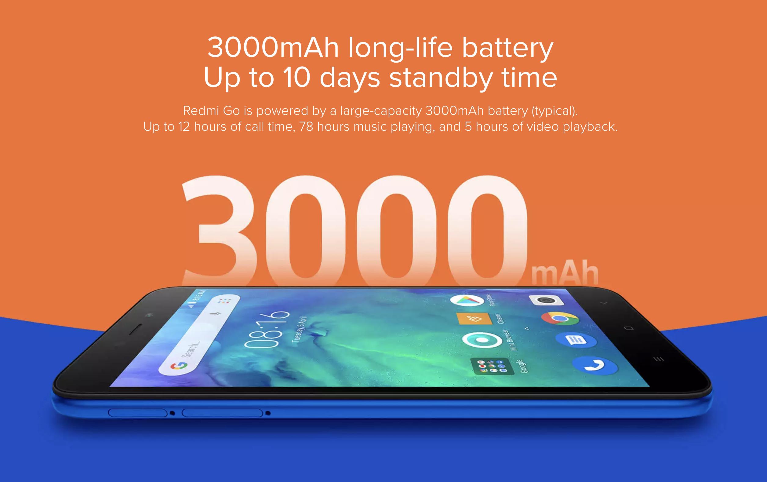 Xiaomi Redmi Goのバッテリー