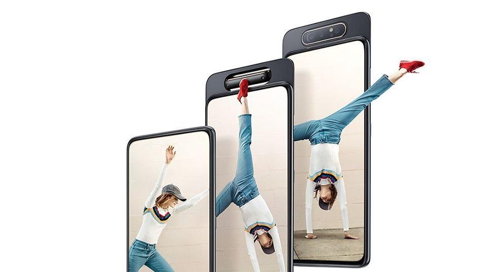 Galaxy A80 design