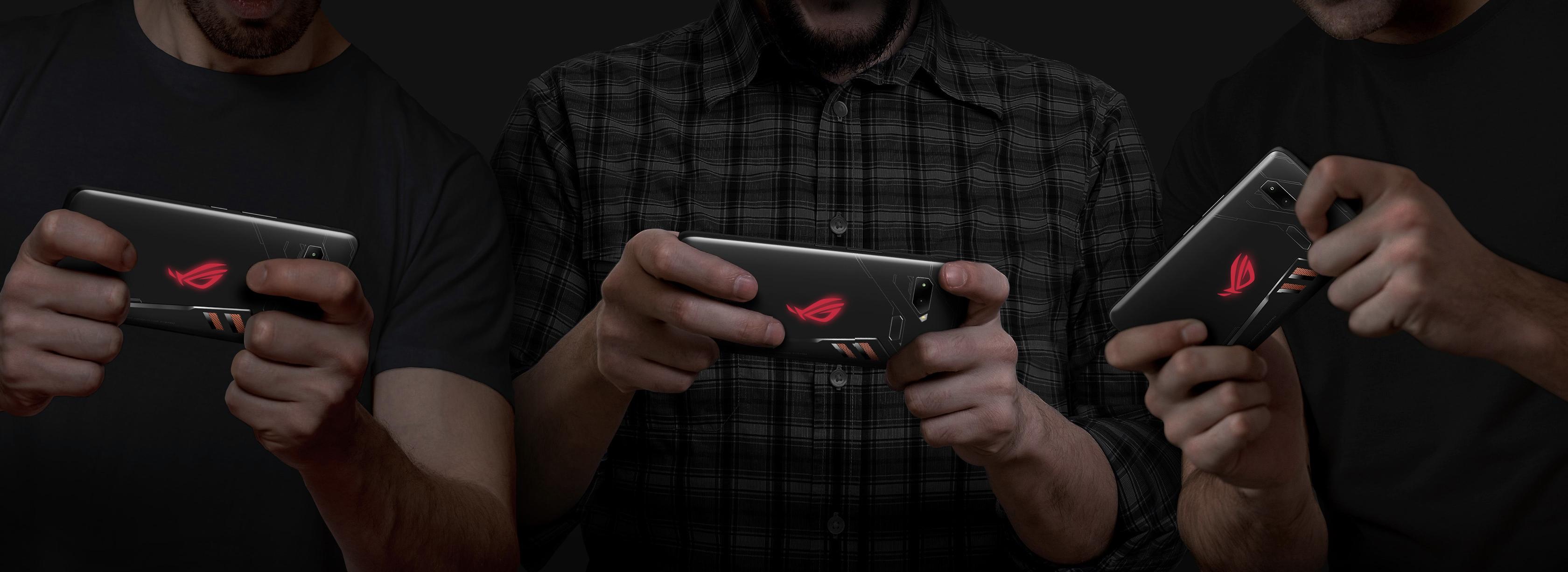 ROG Phoneの背面ライト