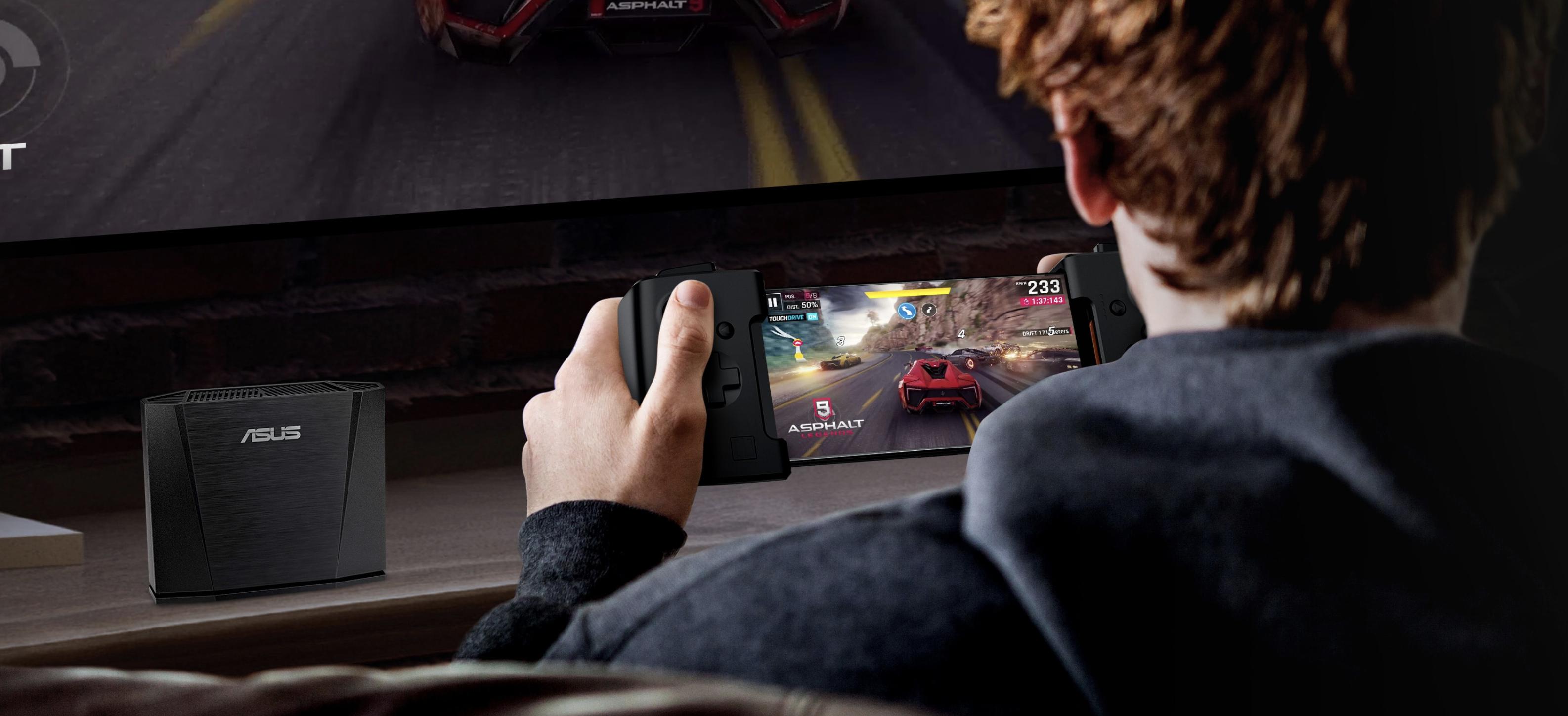 ROG Phoneのゲームパッド