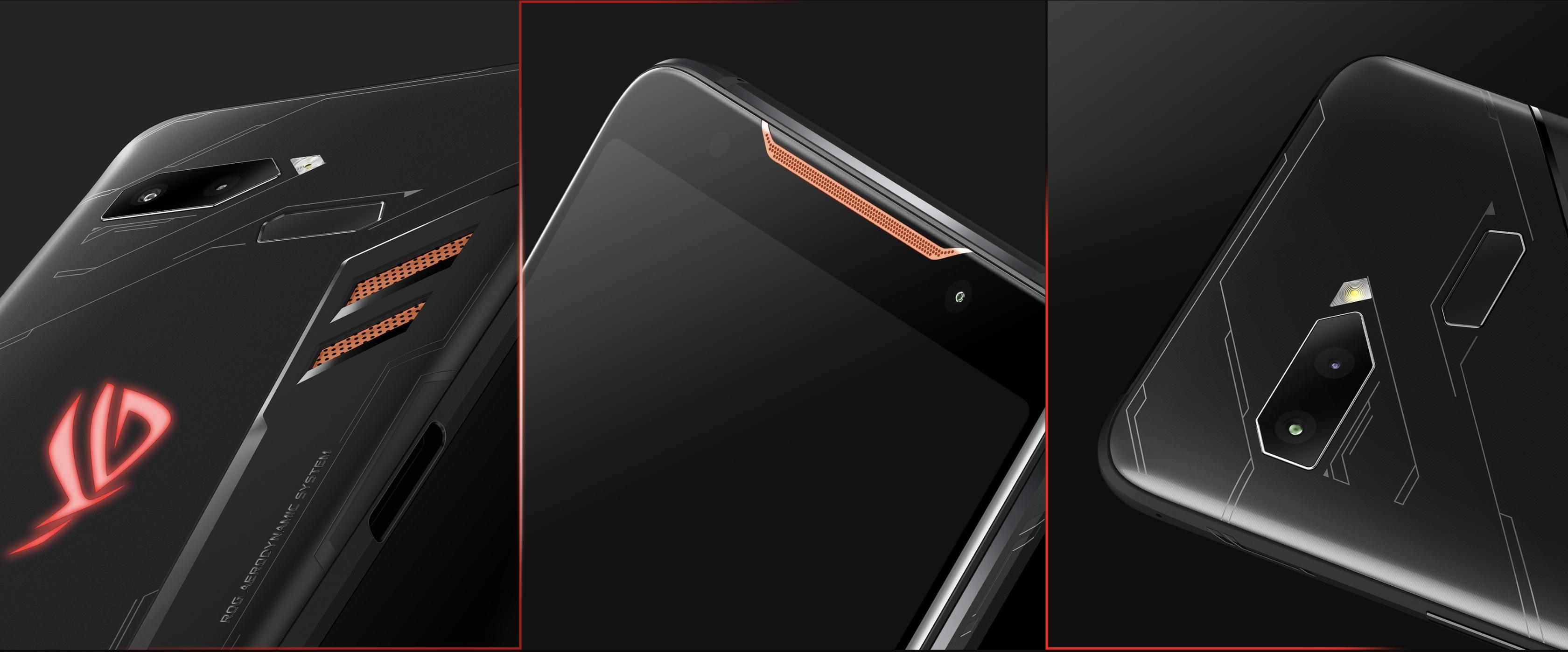 ROG Phoneのデザイン