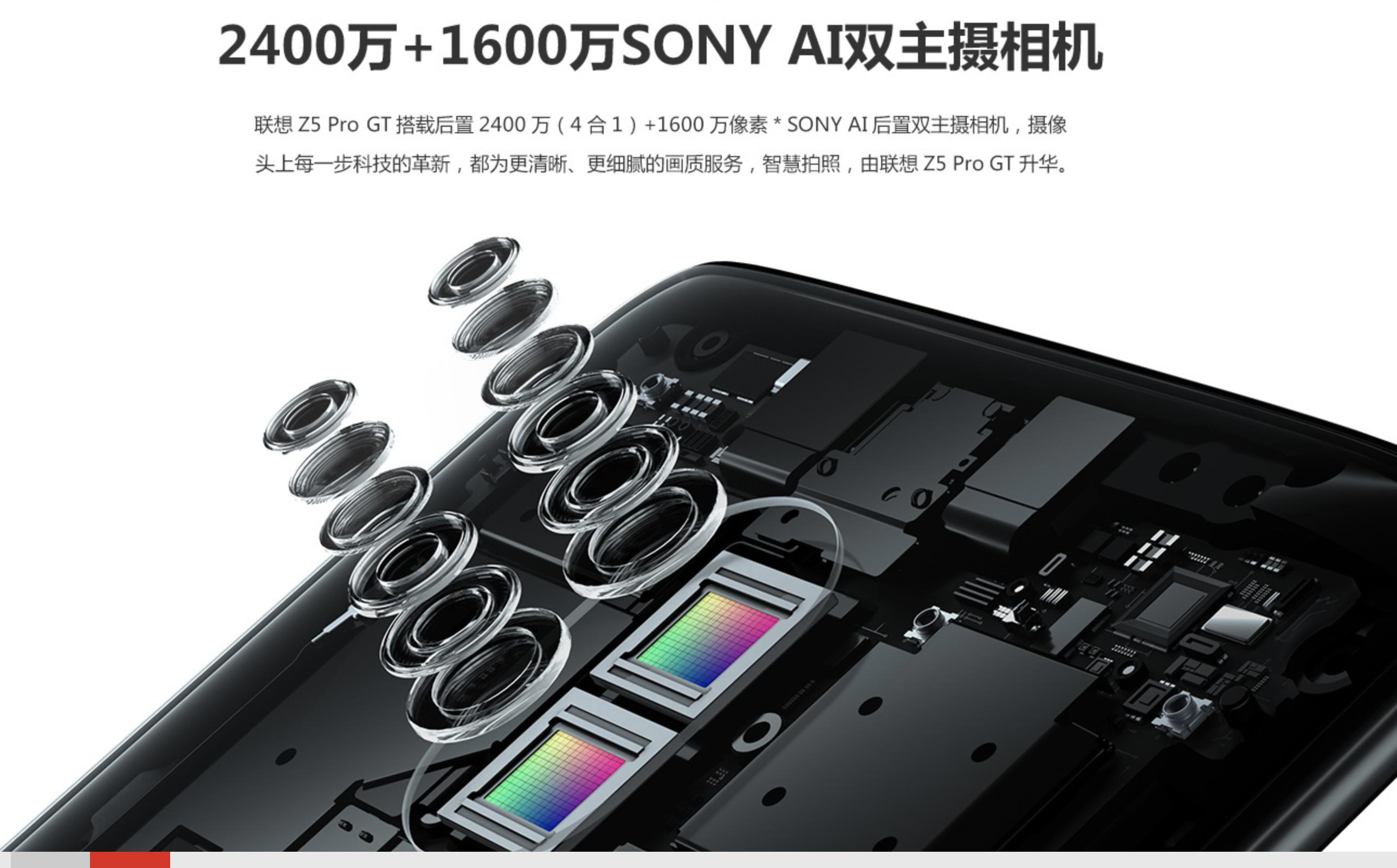 Lenovo Z5 Pro GTのカメラ