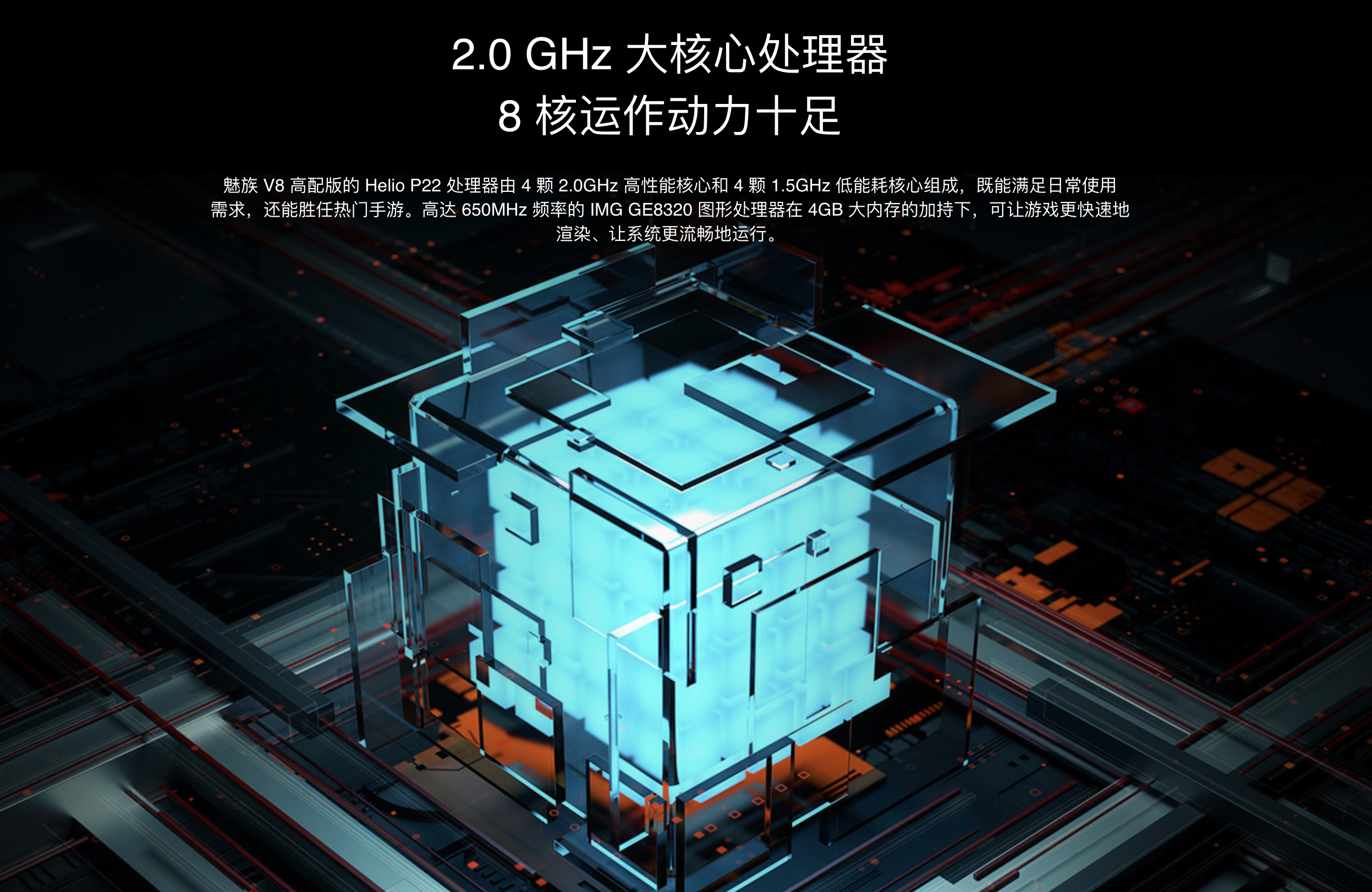 MEIZU V8 ProのSoC