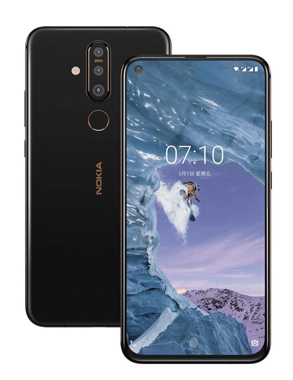 Nokia X71のデザイン