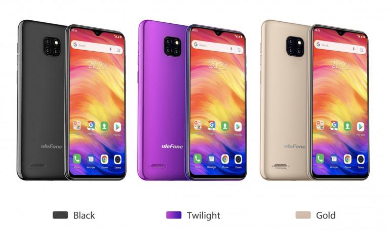 Ulefone Note 7のカラー