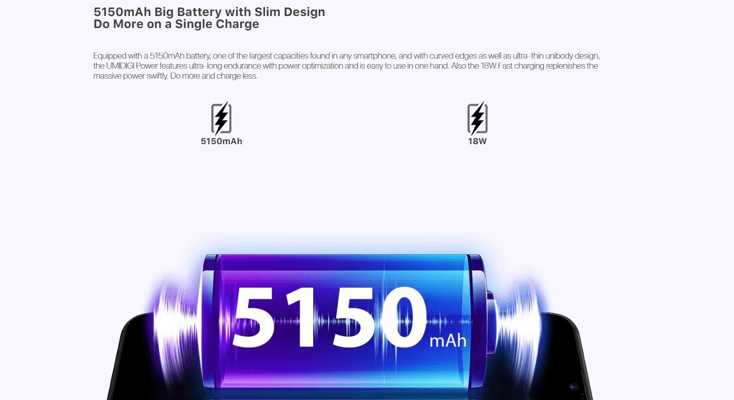 umidigi power battery