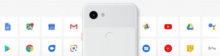 Google Pixel 3aのデザイン