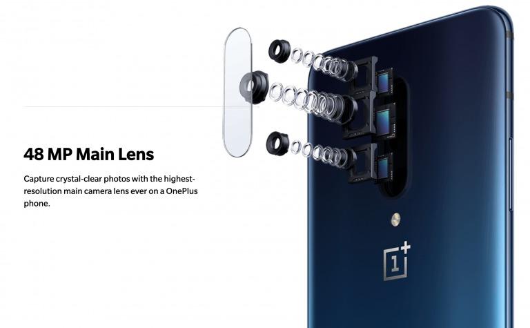 OnePlus 7 Proのメインカメラ