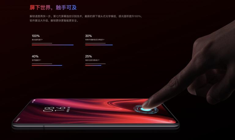 Redmi K20 Proの生体認証