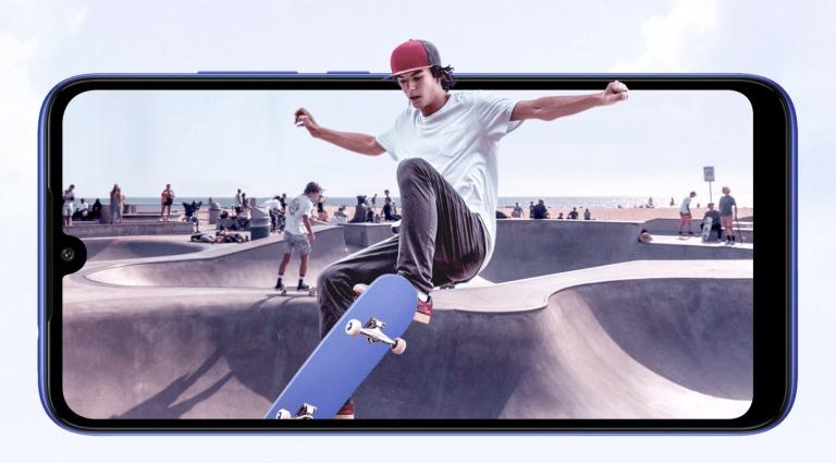 Xiaomi Redmi 7のディスプレイ