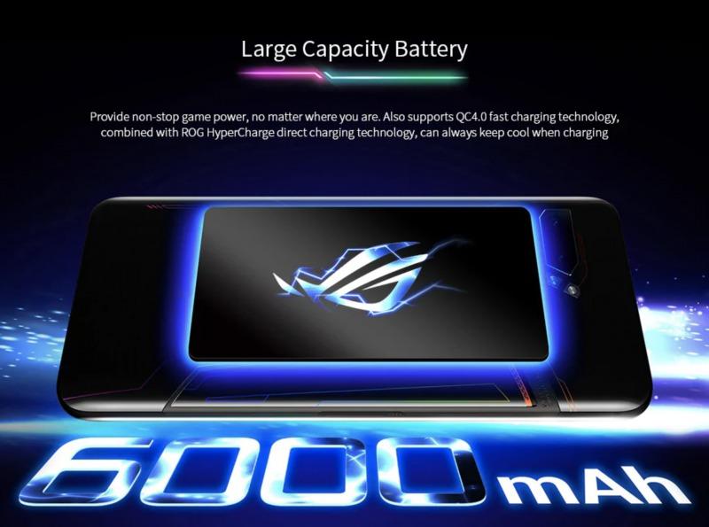 ROG Phone 2のバッテリー
