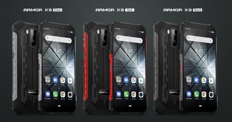 Ulefone Armor X3のデザイン