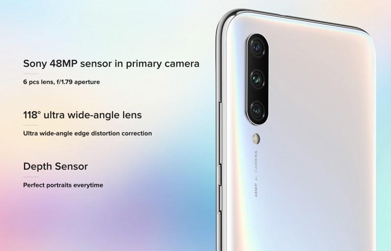Xiaomi Mi A3のカメラ