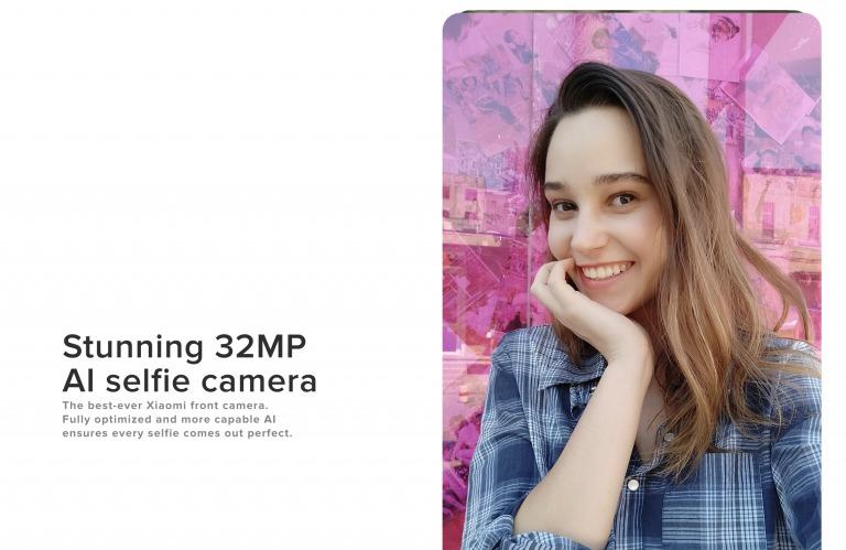 Xiaomi Mi A3のインカメラ