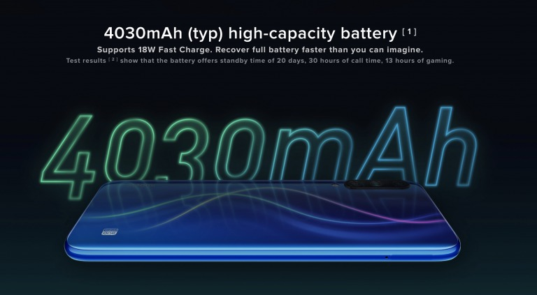 Xiaomi Mi A3のバッテリー