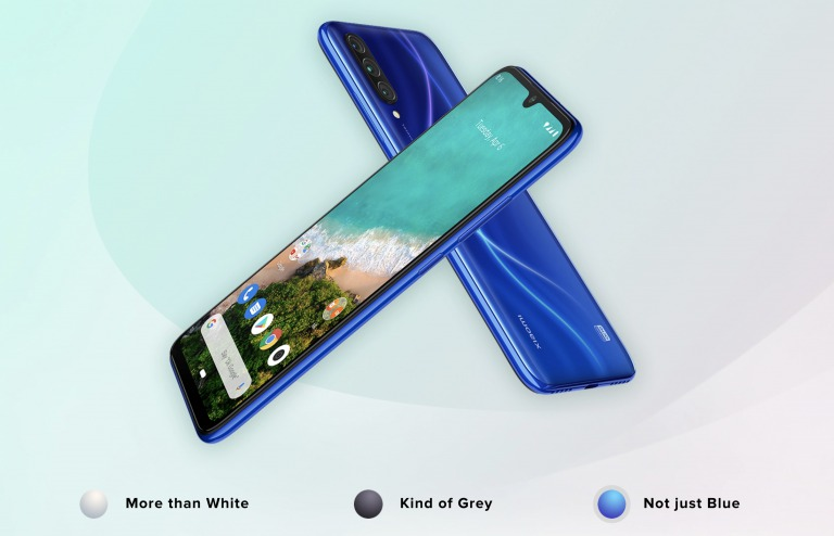 Xiaomi Mi A3のデザイン