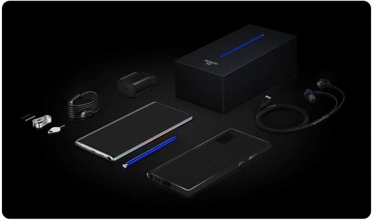 Galaxy Note 10の付属品