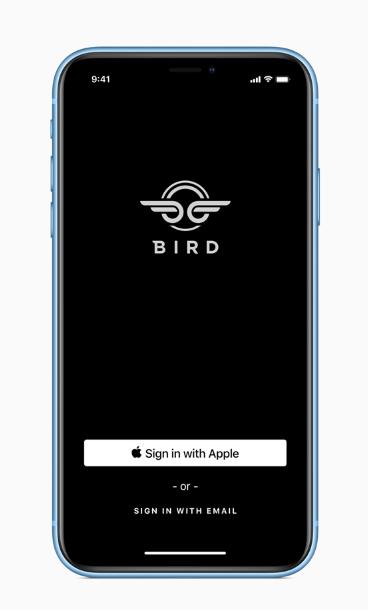 Apple IDによる簡単なサインイン