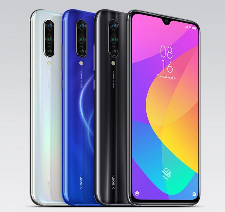 Xiaomi Mi 9 Liteのデザイン