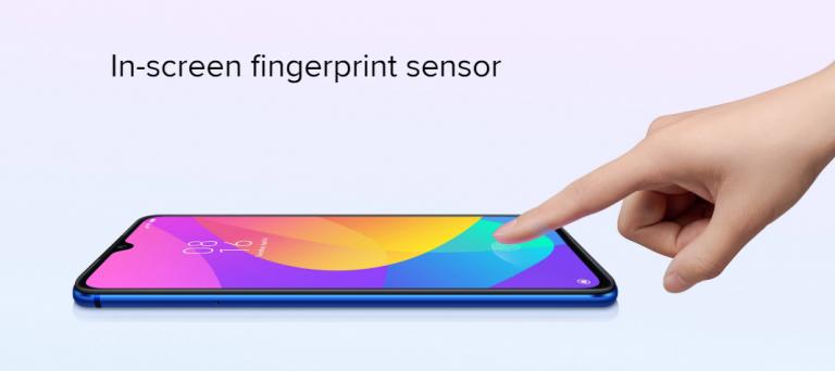 Xiaomi Mi 9 Liteの指紋認証システム