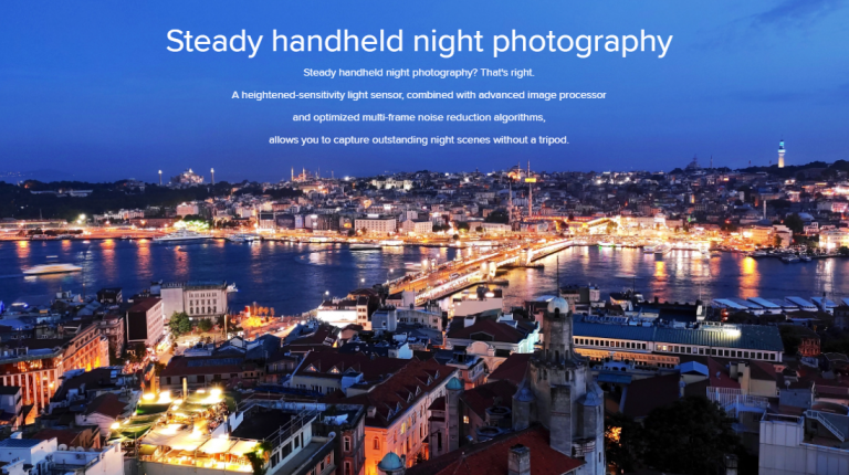 Xiaomi Mi 9 Liteは夜景モードに対応