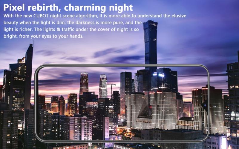 CUBOT X20 Proの夜景モード