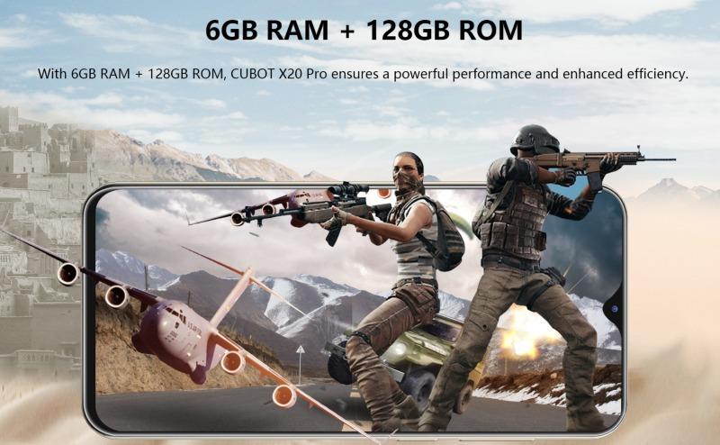 CUBOT X20 ProのRAM