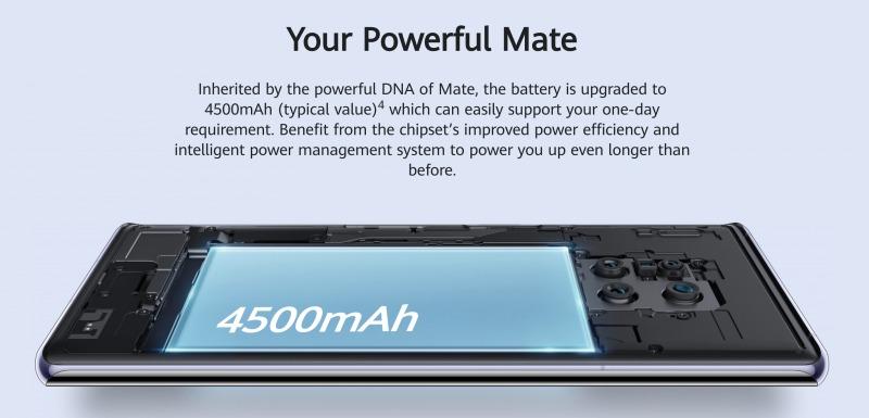 HUAWEI Mate 30 Proのバッテリー