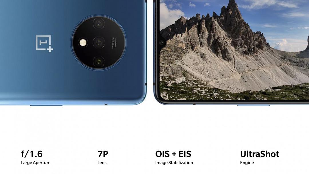 OnePlus 7Tのカメラ