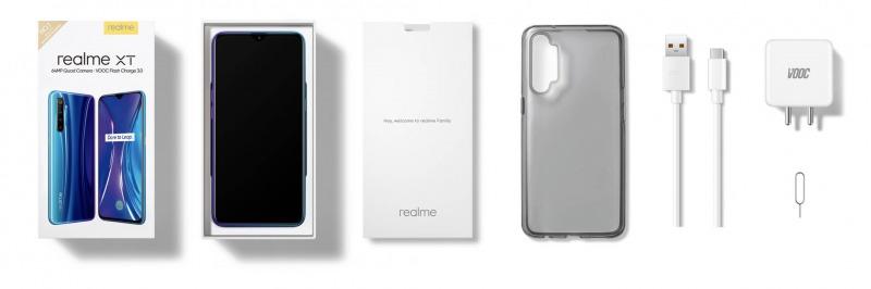 Realme XTの付属品