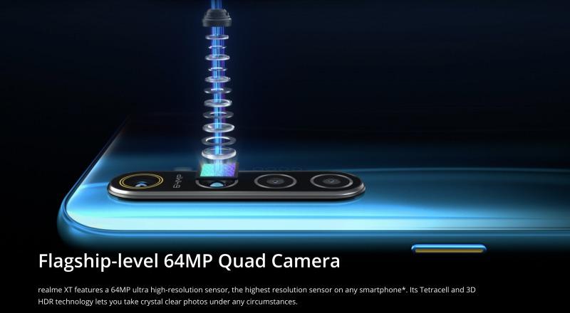 Realme XTのカメラ