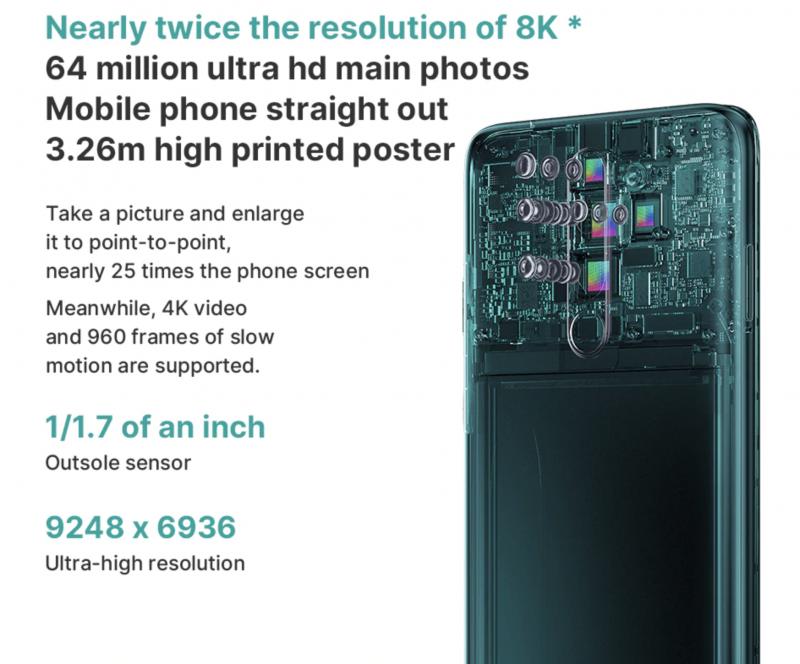 Redmi Note 8 Proのカメラ
