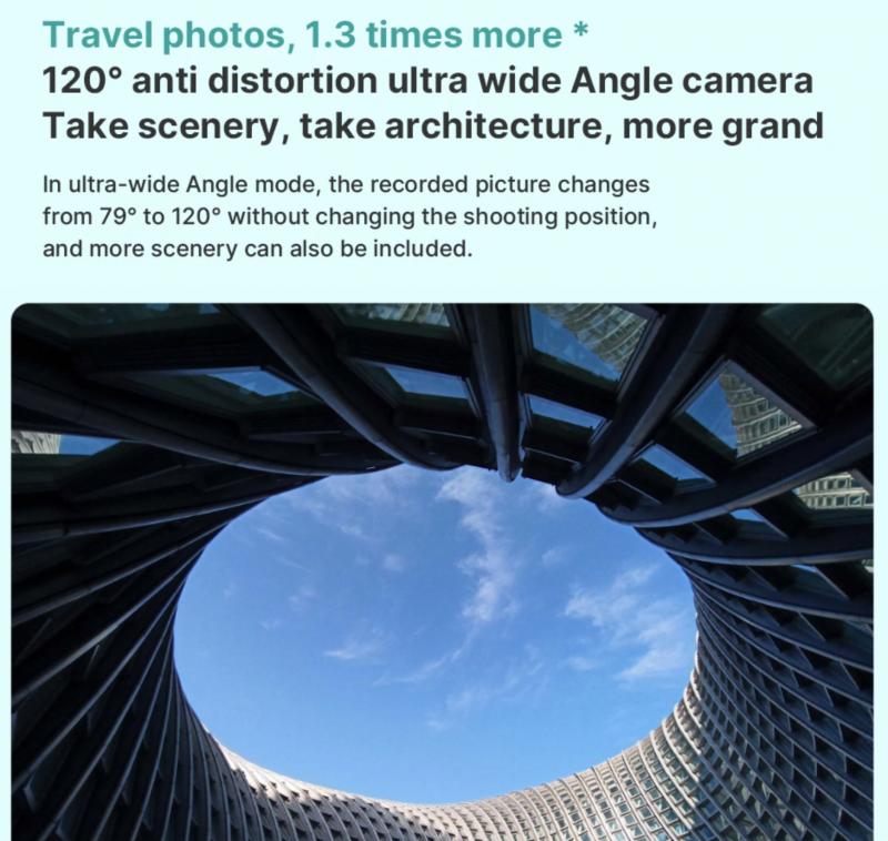 Redmi Note 8 Proの広角カメラ