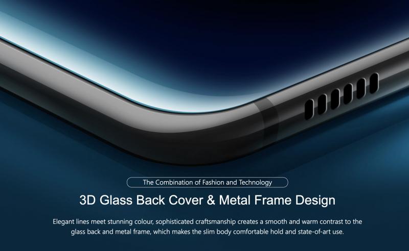 Ulefone T2のデザイン