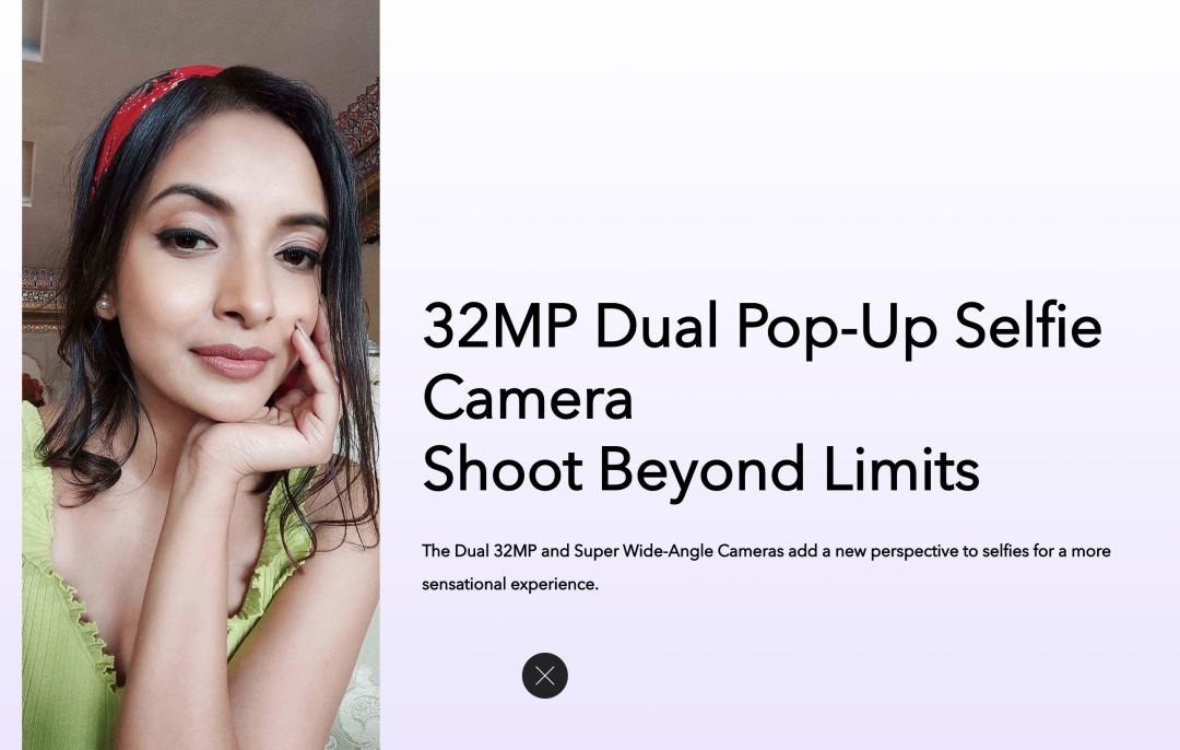 vivo V17 Proのインカメラ