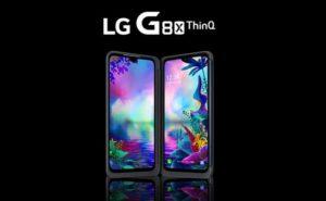 デュアルスクリーンのLG G8X ThinQ