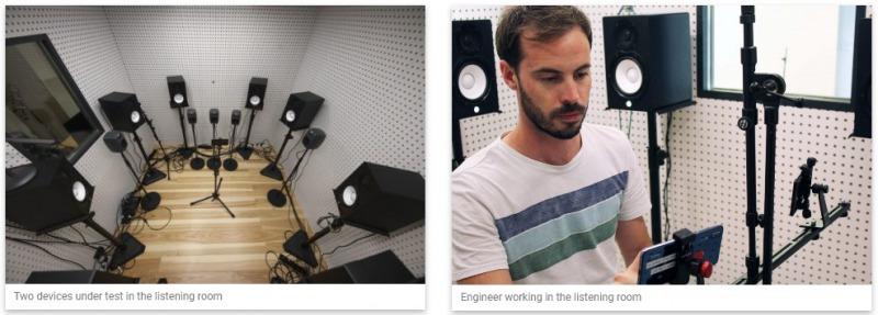 DxOMark Audio リスニングルーム