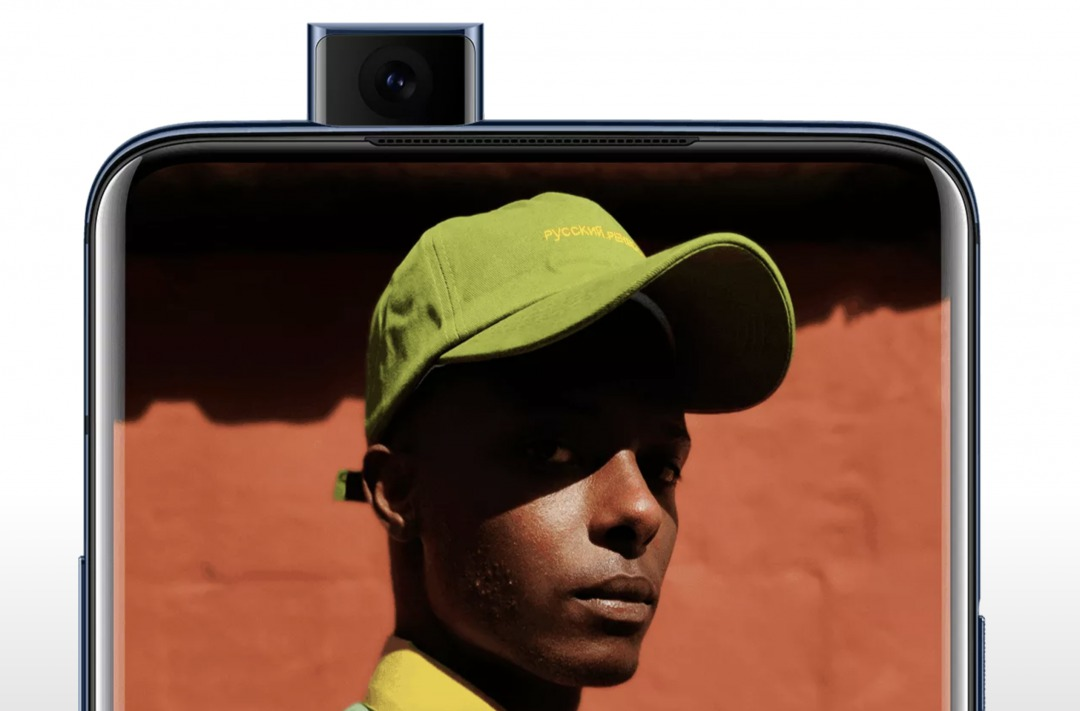 OnePlus 7T Proのポップアップ式カメラ