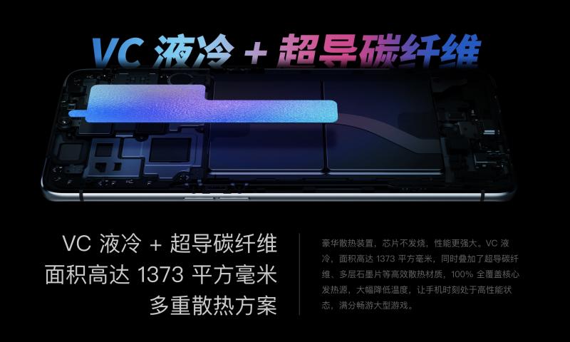 Realme X2 Proの冷却システム