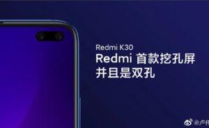 Redmi K30 デュアルパンチホール