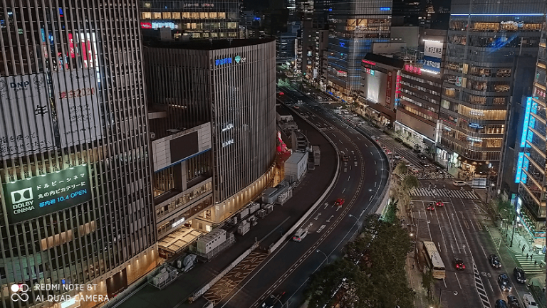 Redmi Note 8Tの48メガピクセルの超高解像度写真