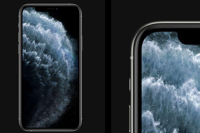 iPhoneの美しいディスプレイ
